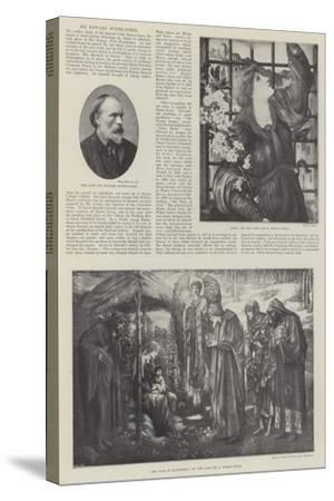 Sir Edward Burne-Jones-Edward Burne-Jones-Stretched Canvas Print