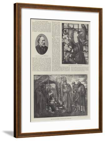 Sir Edward Burne-Jones-Edward Burne-Jones-Framed Giclee Print