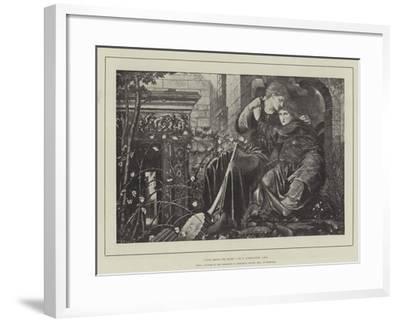 Love Among the Ruins-Edward Burne-Jones-Framed Giclee Print