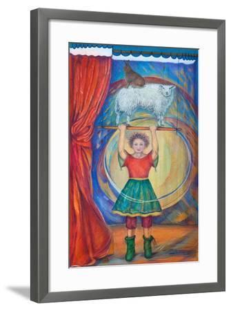 Acrobats, 2013-Silvia Pastore-Framed Giclee Print