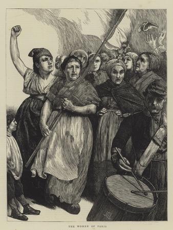 The Women of Paris-Sir James Dromgole Linton-Framed Giclee Print
