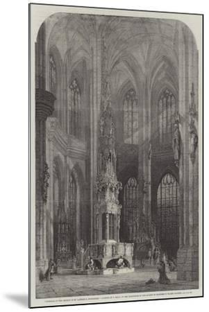 Interior of the Church of St Lawrence, Nuremberg-Samuel Read-Mounted Giclee Print