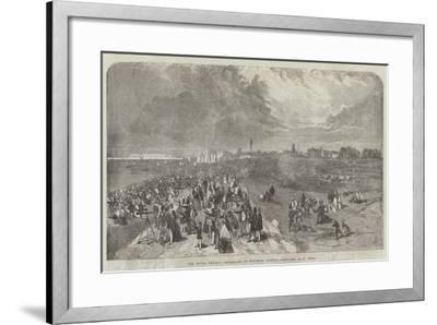 The Naval Review, Promenade on Southsea Common-Samuel Read-Framed Giclee Print