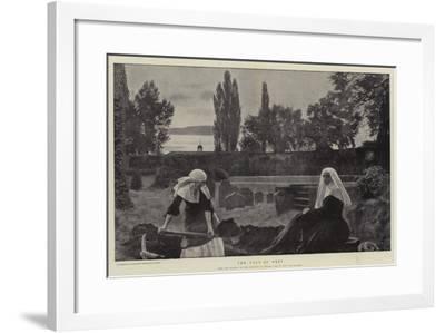 The Vale of Rest-John Everett Millais-Framed Giclee Print