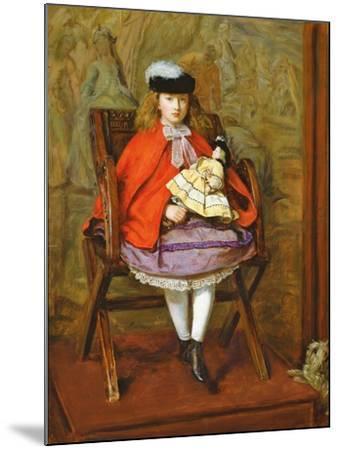 Lilly Noble, 1863-64-John Everett Millais-Mounted Giclee Print