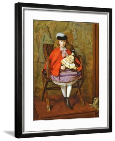 Lilly Noble, 1863-64-John Everett Millais-Framed Giclee Print