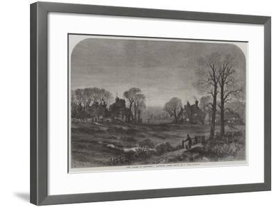 The Curate of Glevering, Glevering Green-Samuel Read-Framed Giclee Print
