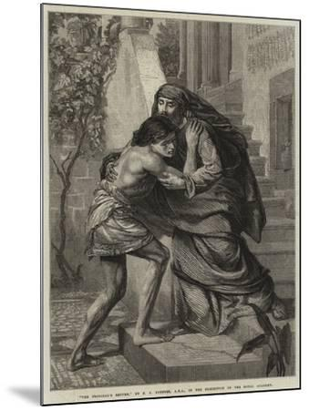 The Prodigal's Return-Sir Edward John Poynter-Mounted Giclee Print