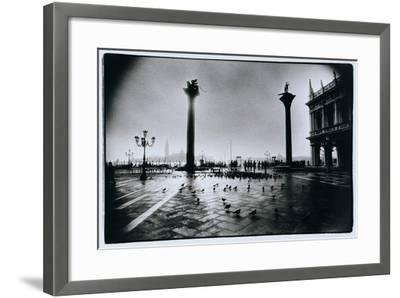 The Columns of St. Mark and St. Theodore, Piazzeta San Marco, Venice-Simon Marsden-Framed Giclee Print