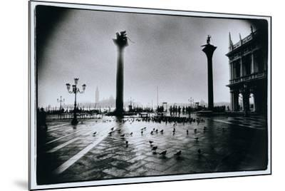 The Columns of St. Mark and St. Theodore, Piazzeta San Marco, Venice-Simon Marsden-Mounted Giclee Print