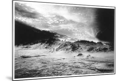 The Beach at Bridgehampton, Long Island-Simon Marsden-Mounted Giclee Print