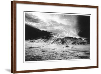 The Beach at Bridgehampton, Long Island-Simon Marsden-Framed Giclee Print