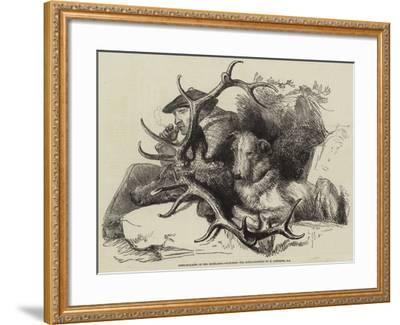 Deer-Stalking in the Highlands, Watching the Body-Edwin Landseer-Framed Giclee Print