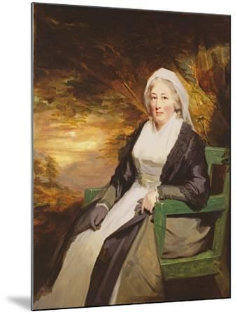 Christina Lamont Drummond, Mrs. Douglas Campbell of Ballimore, C.1795-Sir Henry Raeburn-Mounted Giclee Print