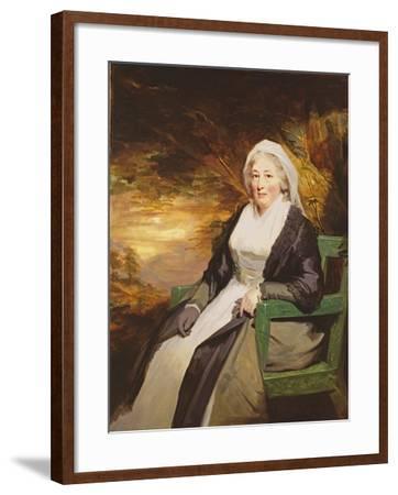 Christina Lamont Drummond, Mrs. Douglas Campbell of Ballimore, C.1795-Sir Henry Raeburn-Framed Giclee Print