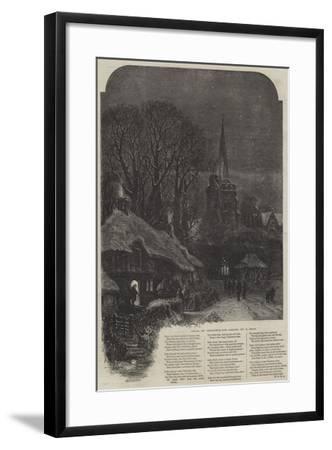 Bells on Christmas-Eve-Samuel Read-Framed Giclee Print