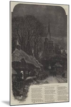 Bells on Christmas-Eve-Samuel Read-Mounted Giclee Print