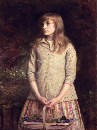 Sweetest Eyes That Were Ever Seen..., 1881-John Everett Millais-Framed Giclee Print