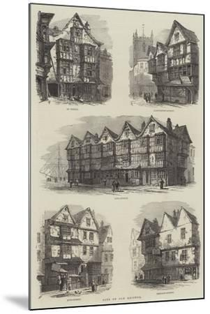 Bits of Old Bristol-Samuel Read-Mounted Giclee Print