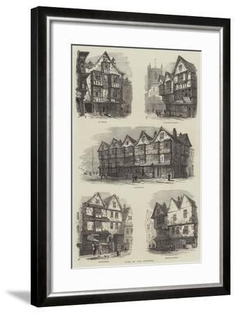 Bits of Old Bristol-Samuel Read-Framed Giclee Print