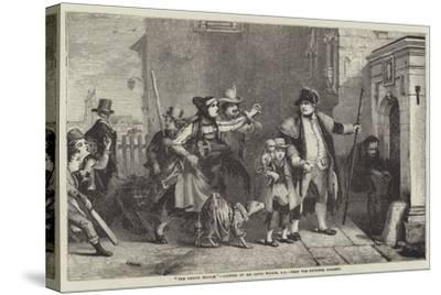 The Parish Beadle-Sir David Wilkie-Stretched Canvas Print