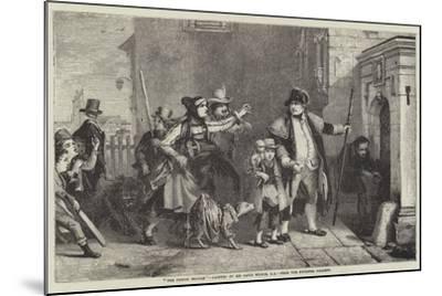 The Parish Beadle-Sir David Wilkie-Mounted Giclee Print