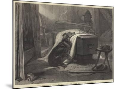 The Shepherd's Chief Mourner-Edwin Landseer-Mounted Giclee Print