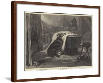 The Shepherd's Chief Mourner-Edwin Landseer-Framed Giclee Print