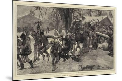 Carnival Time in the Bavarian Alps-Hubert von Herkomer-Mounted Giclee Print
