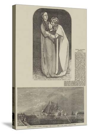 Fine Arts-John Everett Millais-Stretched Canvas Print