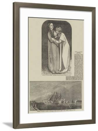Fine Arts-John Everett Millais-Framed Giclee Print