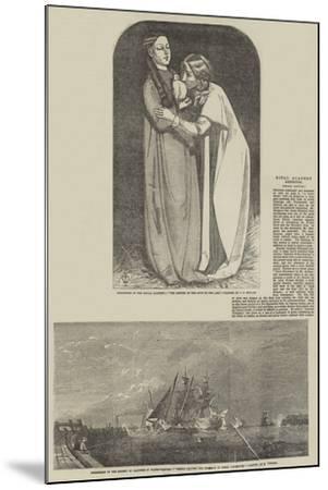 Fine Arts-John Everett Millais-Mounted Giclee Print