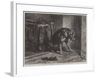 Suspense-Edwin Landseer-Framed Giclee Print