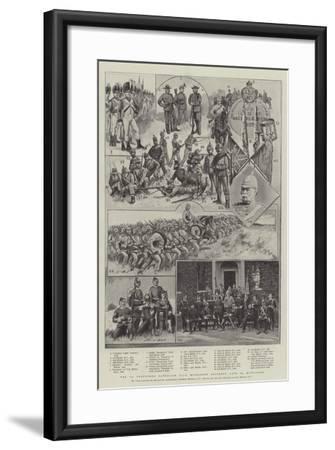 The 1st Volunteer Battalion Duke of Cambridge's Own Middlesex Regiment, Late 3rd Middlesex-Sir Frederick William Burton-Framed Giclee Print