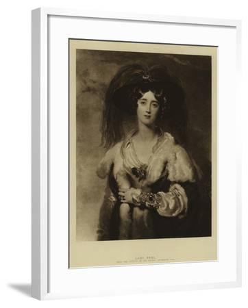 Lady Peel-Thomas Lawrence-Framed Giclee Print