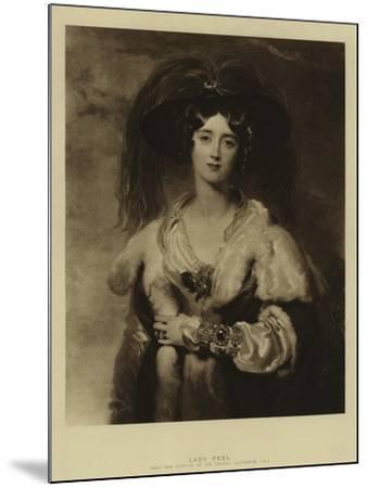 Lady Peel-Thomas Lawrence-Mounted Giclee Print