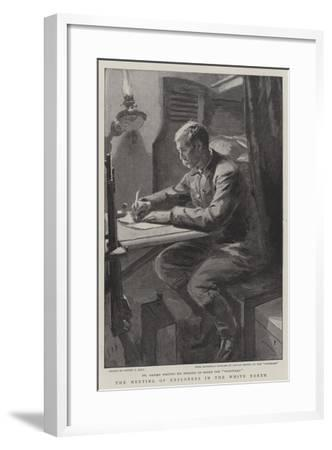 The Meeting of Explorers in the White North-Sydney Prior Hall-Framed Giclee Print