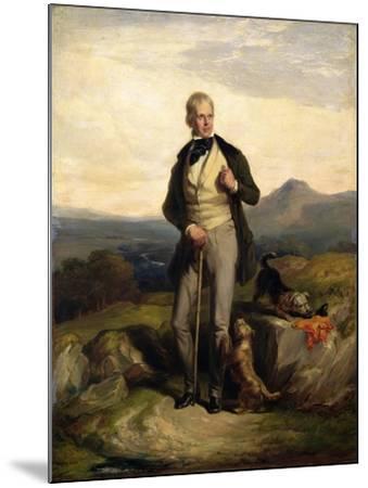 Sir Walter Scott (1771-1832)-Sir William Allan-Mounted Giclee Print