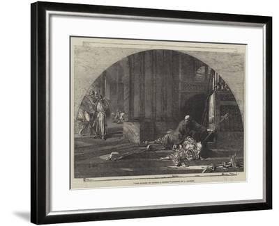 The Murder of Thomas a Becket-Sir John Gilbert-Framed Giclee Print