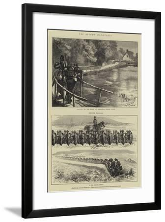 The Autumn Manoeuvres-Sydney Prior Hall-Framed Giclee Print