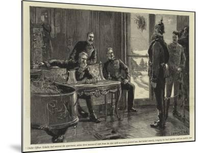 Under-Officer Schultz Had Entered the Apartment-Sydney Prior Hall-Mounted Giclee Print