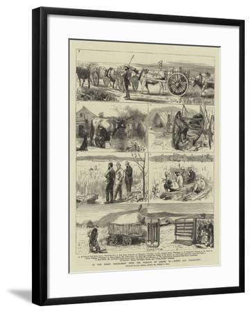 In the Great North-West with the Marquis of Lorne, Xi, Farms and Freighters-Sydney Prior Hall-Framed Giclee Print