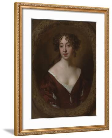 Portrait of Mary Farrington (Née Smith), C.1675-Sir Peter Lely-Framed Giclee Print