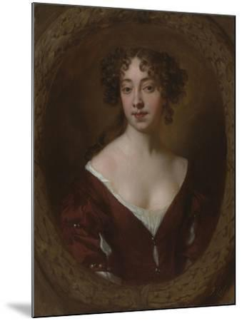 Portrait of Mary Farrington (Née Smith), C.1675-Sir Peter Lely-Mounted Giclee Print