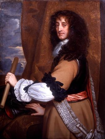 Portrait of Prince Rupert of the Rhine, C.1665-Sir Peter Lely-Framed Giclee Print