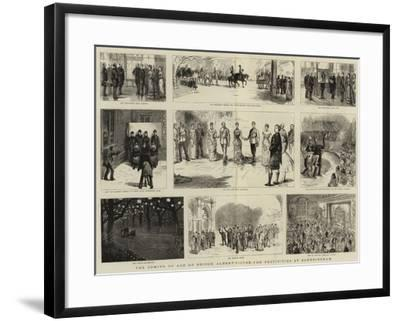 The Coming of Age of Prince Albert Victor, the Festivities at Sandringham-Sydney Prior Hall-Framed Giclee Print