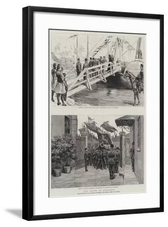 The Crisis in Bulgaria-Sydney Prior Hall-Framed Giclee Print