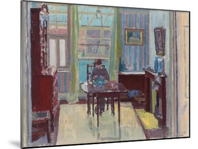 Interior of Room at 6 Cambrian Road, Richmond, 1914-Spencer Frederick Gore-Mounted Premium Giclee Print
