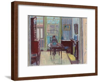 Interior of Room at 6 Cambrian Road, Richmond, 1914-Spencer Frederick Gore-Framed Premium Giclee Print