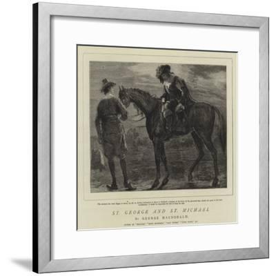 St George and St Michael-Sydney Prior Hall-Framed Giclee Print